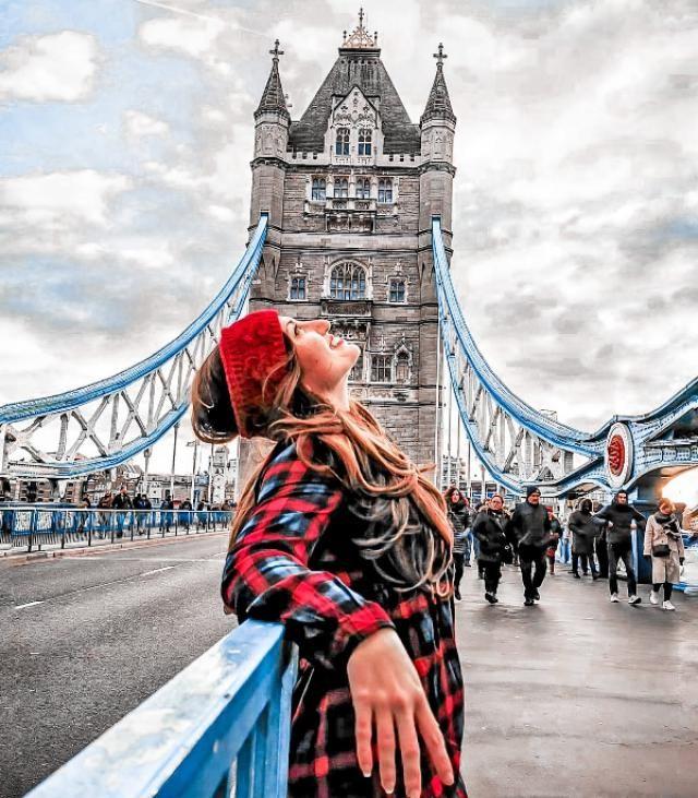 devo dire che dal punto di vista di Londra il mondo non è così tanto male😅🤩
