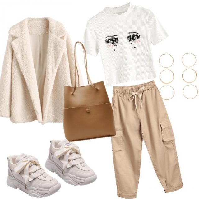 Casual Beige outfit !