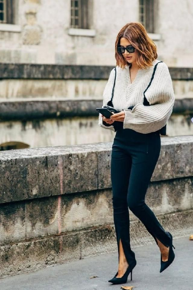If you're tired of classic pants ideas, then you should take a look at front slit trousers.It's easy to guess t…