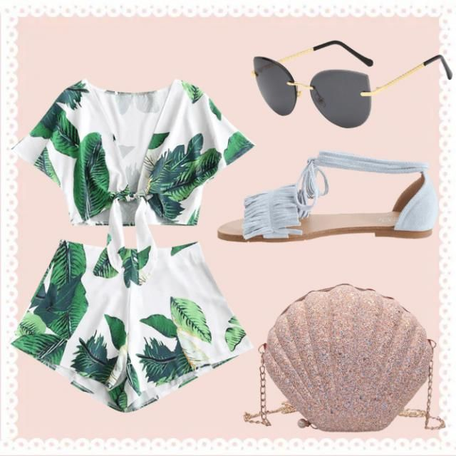 Cute outfit for a getaway to the islands