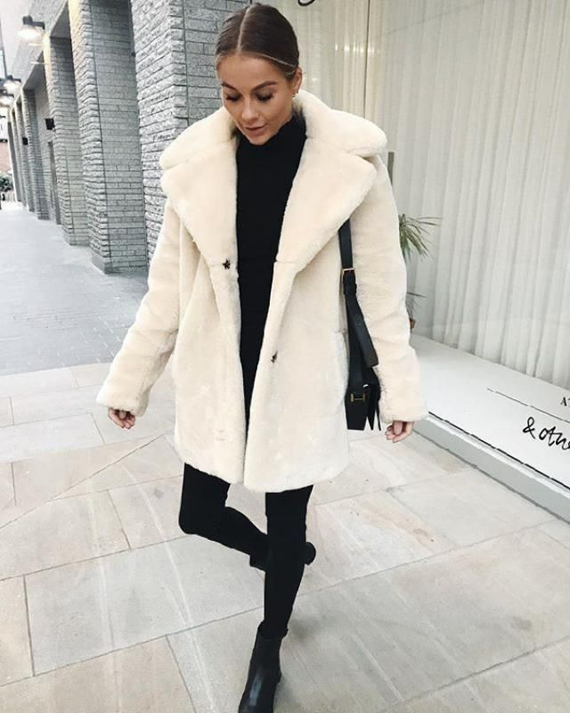 Faux fur coats are super trendy and chic for winter fashion. These coats should be a must-have piece for every woma…