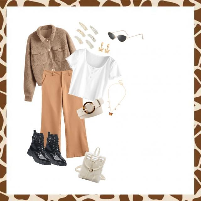 """I tried to create a quit nice look inspired in """"beige"""". I think these are some items that are really trendy and complem…"""