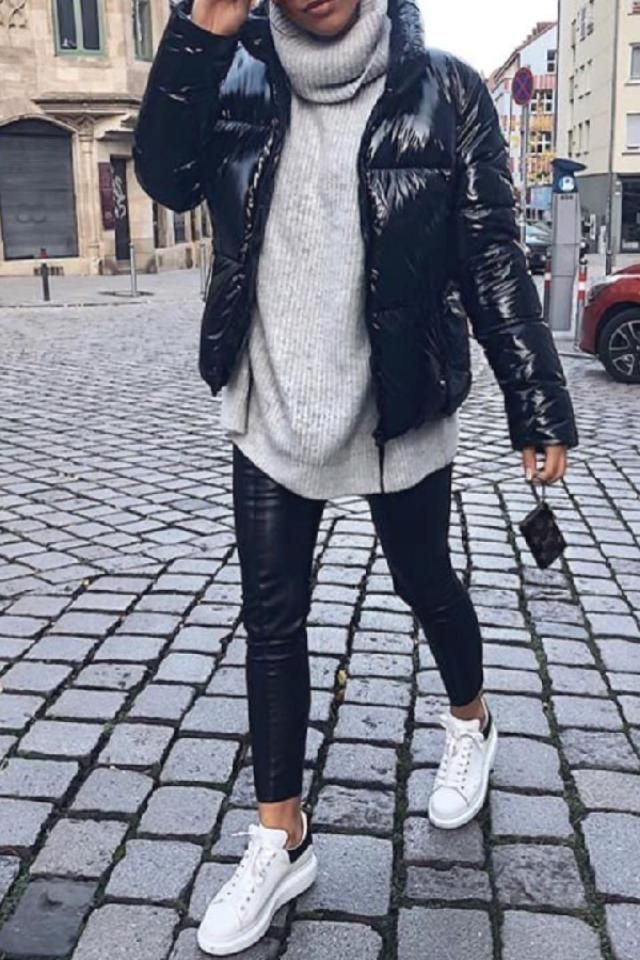They've been in style since forever, but at one point all of us have wondered what to wear with leather pants. Her…