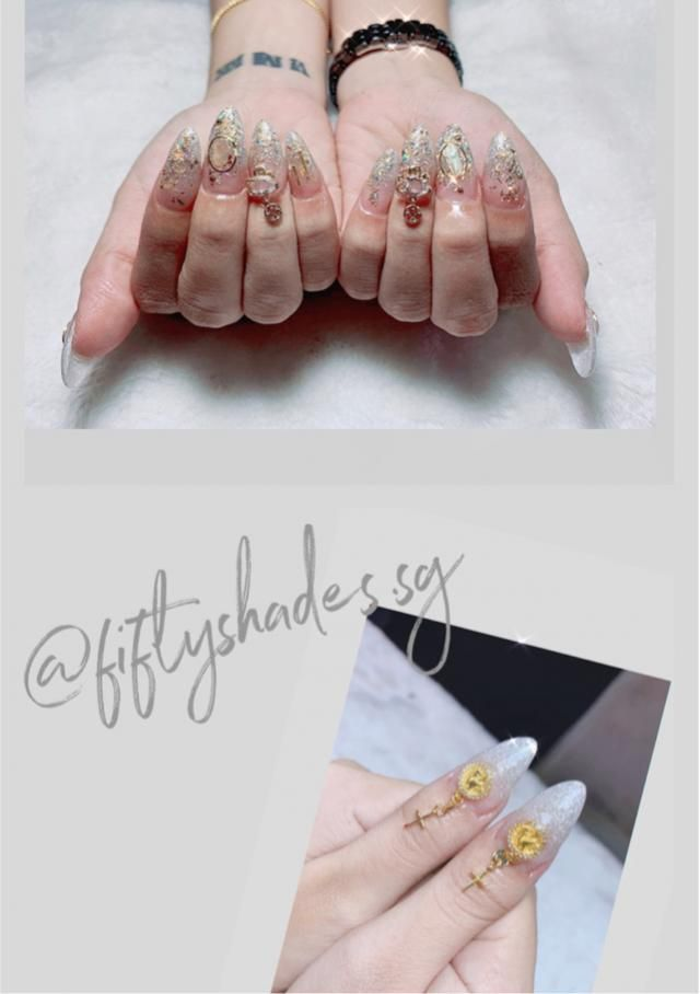 """/WMakeUp """"Imagination is the only limitation of nail art."""""""