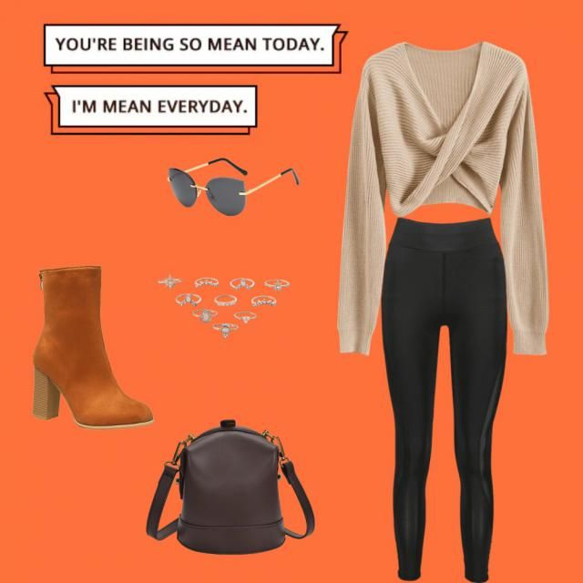 I love this look it can be made for casual or a night out with friends.