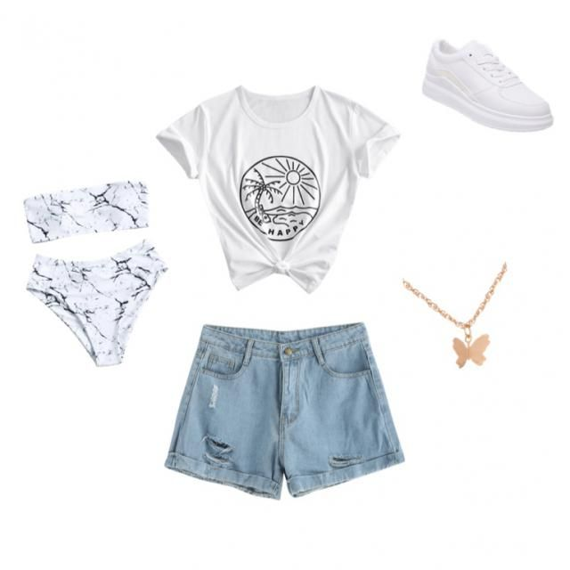 1 minute oufit