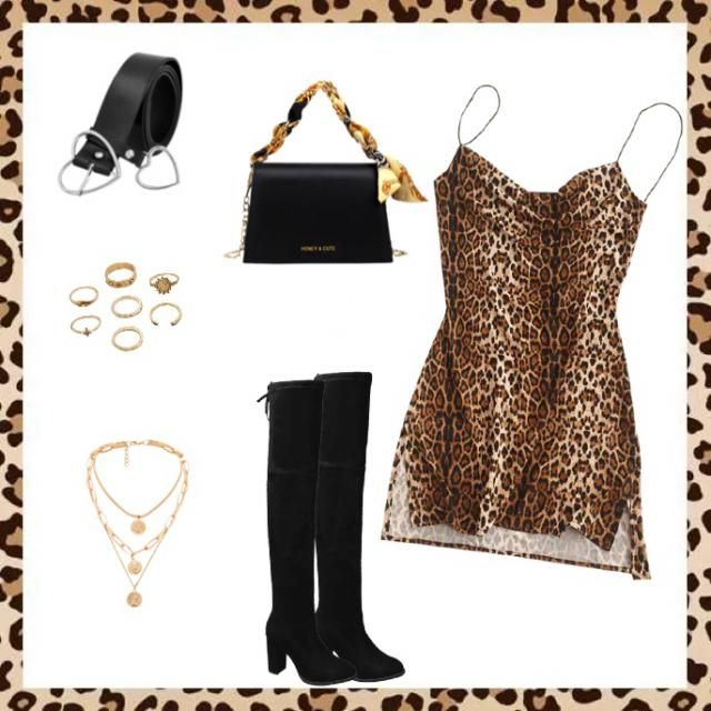 Leopard babe