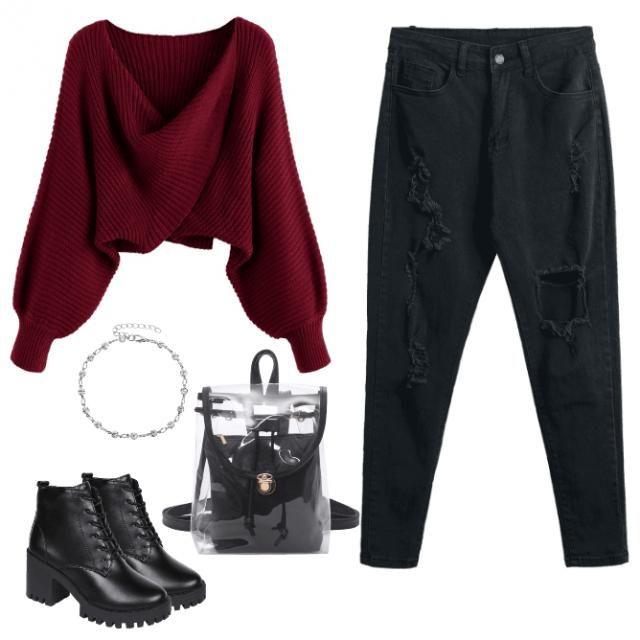 Vestimenta casual y a la moda