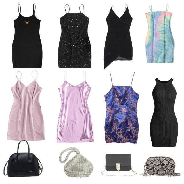 my favorite dresses and bags on zaful