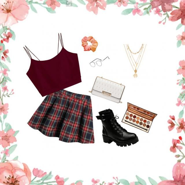 This is a beautiful Outfit for a simple Day for school;)