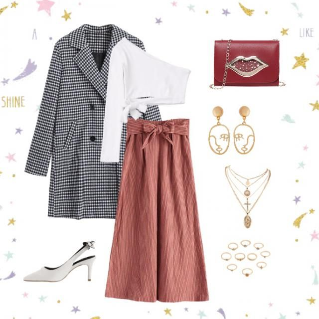 -Zstar casual cute outfit!