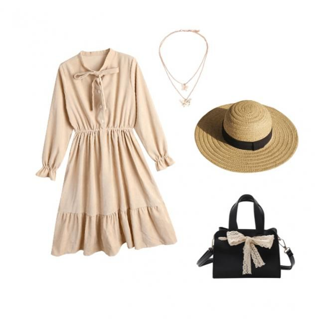 Beige and girly