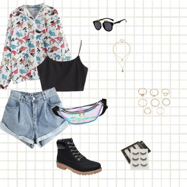 this is would be a great outfit for summer, it&;s cute and fun!