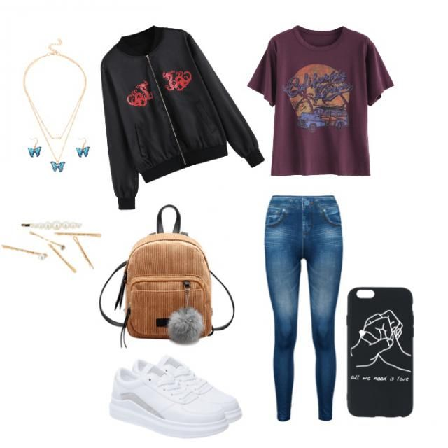 Casual outfit for school 🥰
