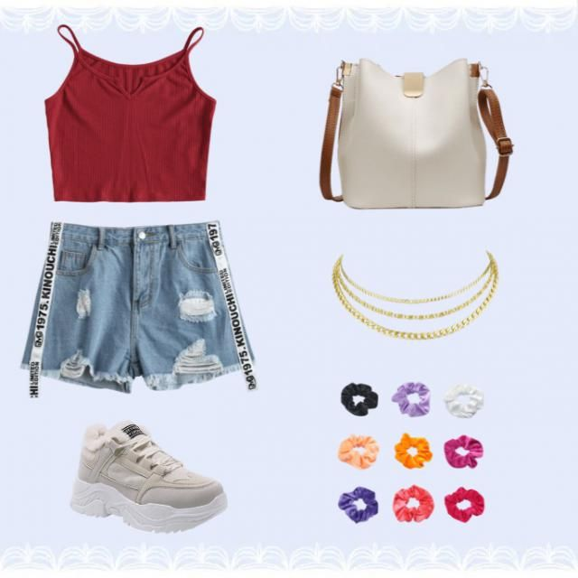 -Zstar    Cute teen spring outfit