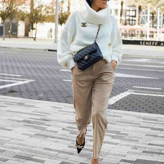 easy casual chic bright look