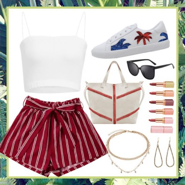 Cute summer walk