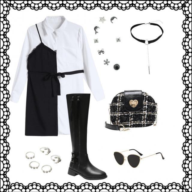 Black ð white