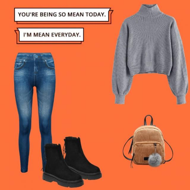 this is fone sweat outfit for school