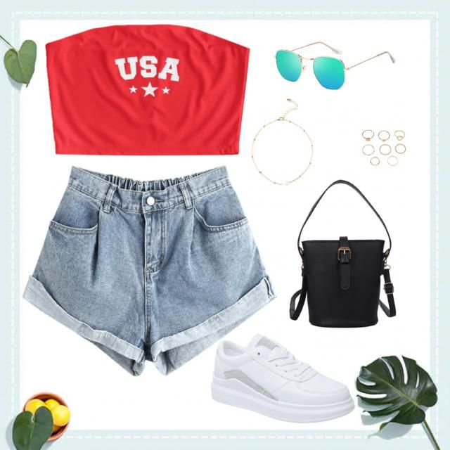 I like this outfit because this is totally something i would wear during spring/summer. It's cute and casual. I like to…