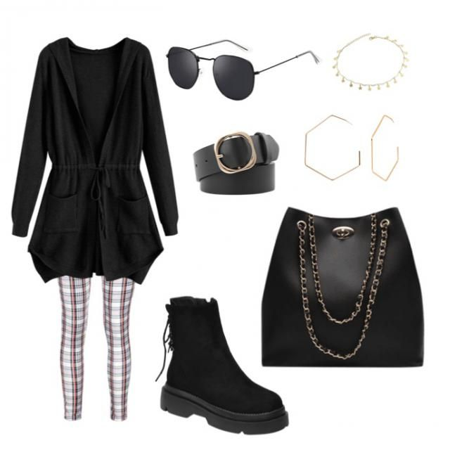 chill but still classy outfit for school