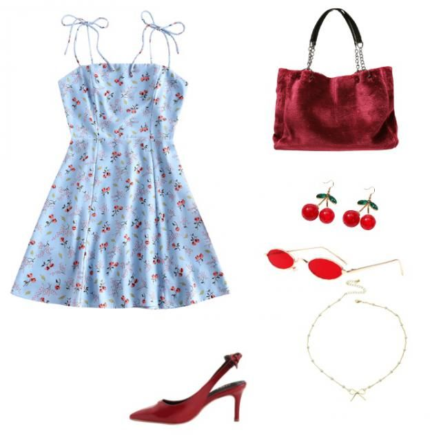 Blossom inspired outfit