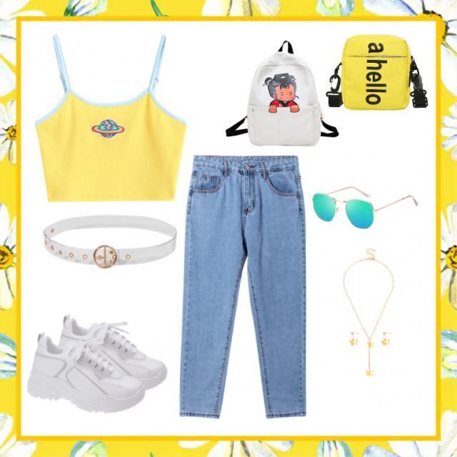 Yellow mellow💛🤍
