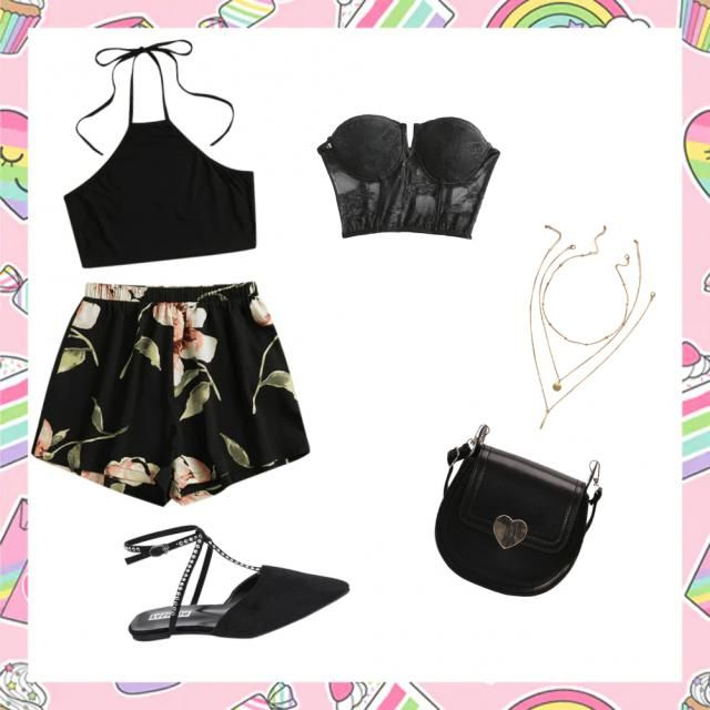 Dazzling everyday summer look! Great for meeting up with the girls for lunch.