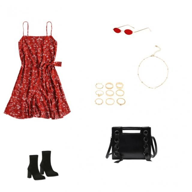 cute for a hot summer date night, scaling from classy to casual!
