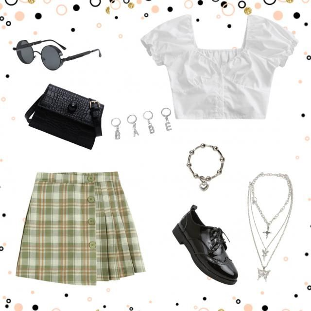 A really cute 90s inspired outfit