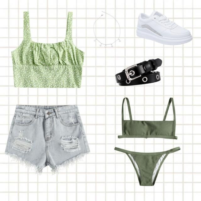 super cute st pattys day outfit !!! (because you have to wear greeennn ;) )