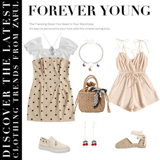 have a nice holiday with ivory dress!