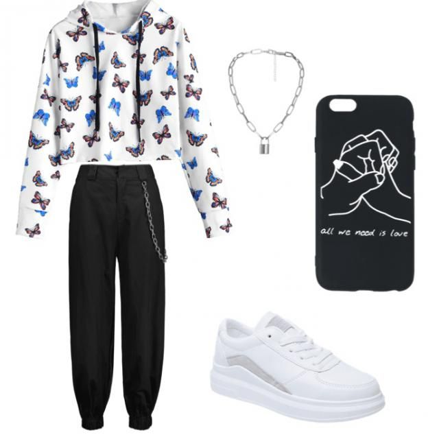 this outfit is for my bestie Angie go follow her Graci898