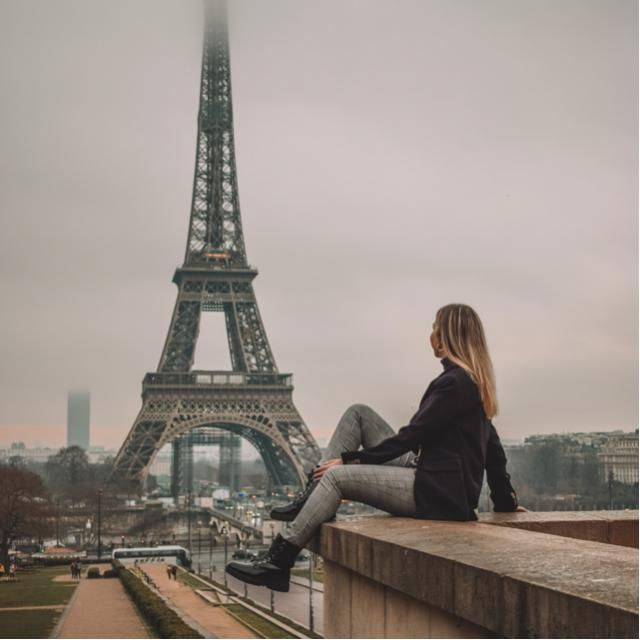 Up to Eiffel Tower
