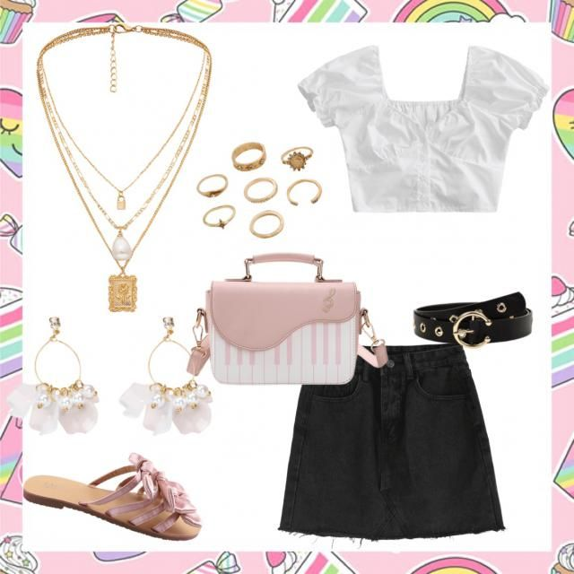 A cute spring look great for shopping