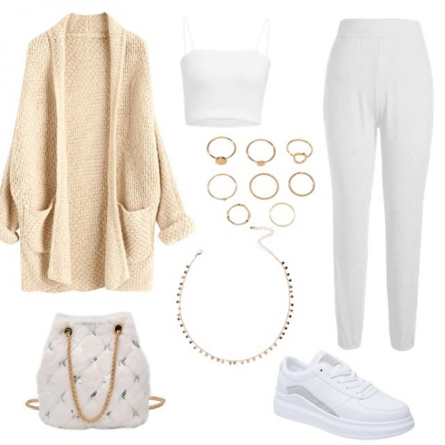 Cute comfy look for casual events