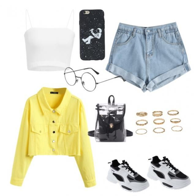 Here's a cute summer outfit