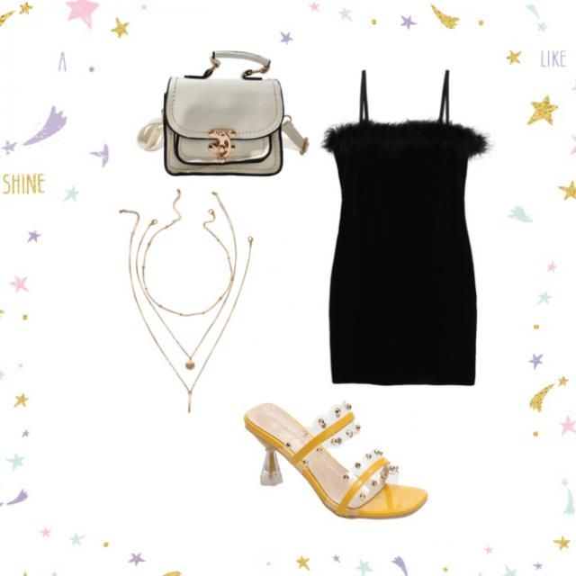 Chic yet funky night out