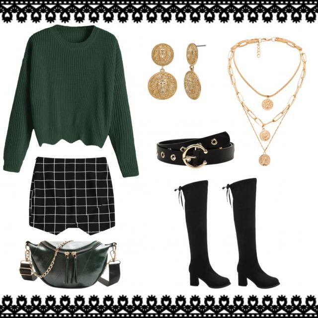 A cute and comfy outfit for St. Patrick's Day ☘️