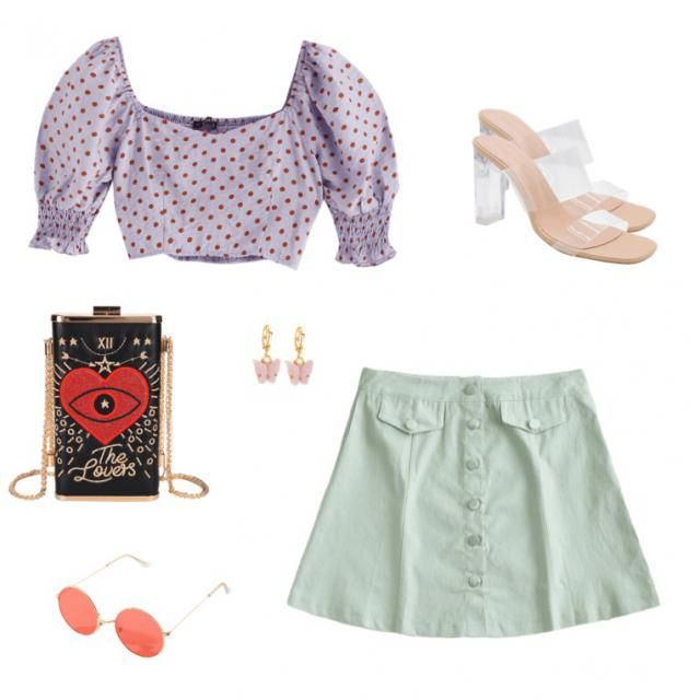 puff slevee outfit for summer nights