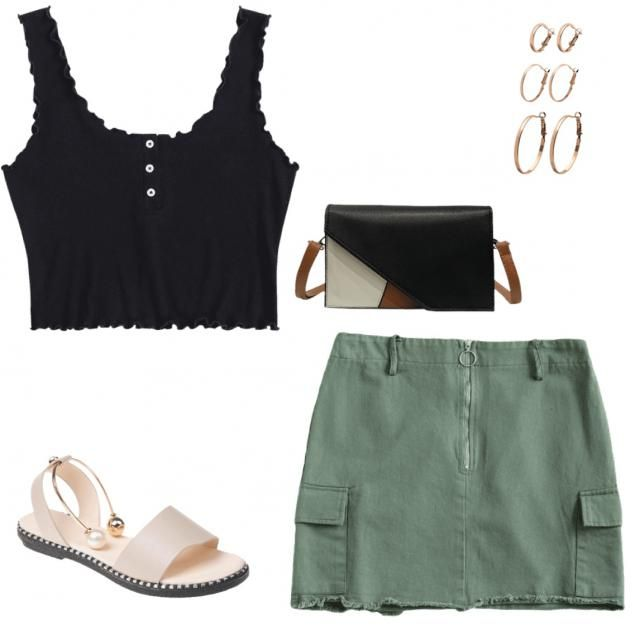 green st. paddy's day outfit!