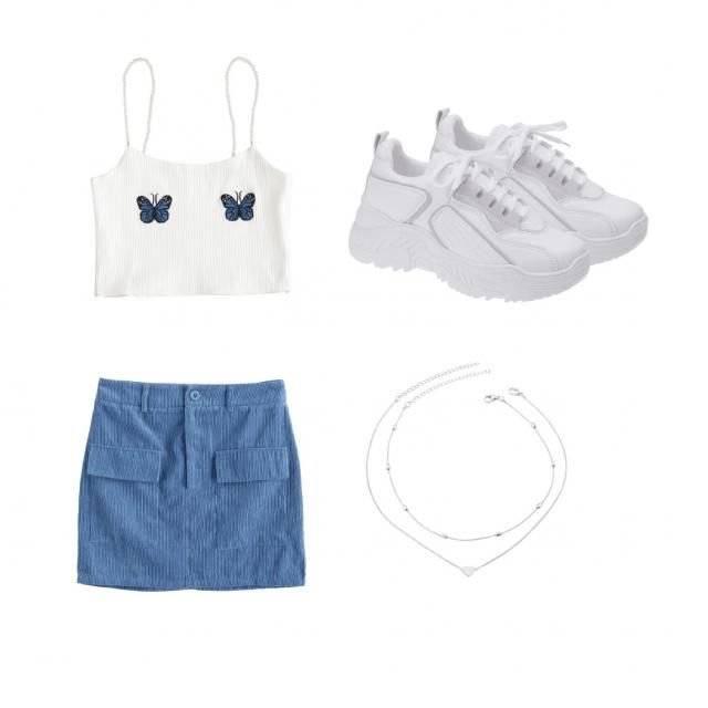 Casual outfit for summer!