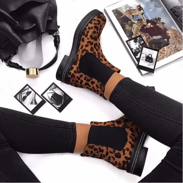 how unreal are these leopard booties |