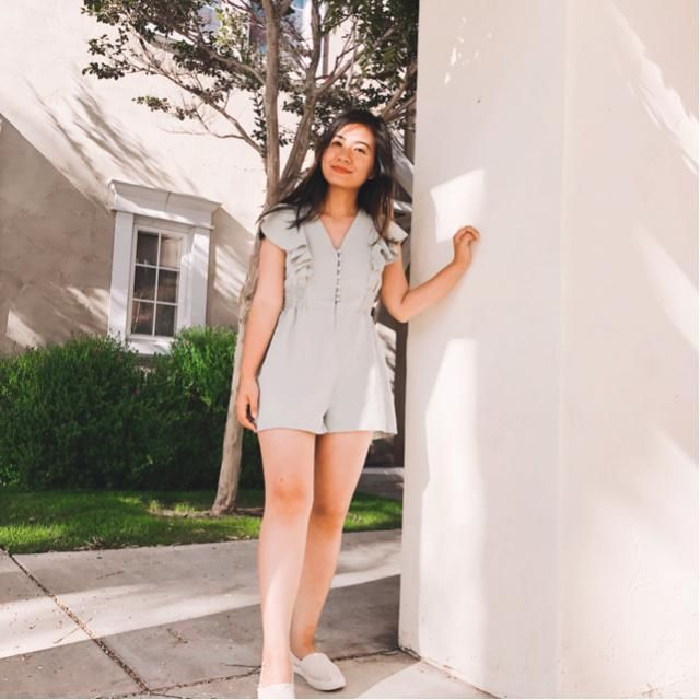 Casual Casual crop top and jeans are my go to when traveling. It was so hot I also pull my hair up into…