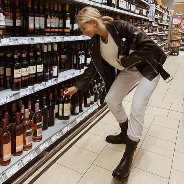 Let's stay at home and stock up some wine