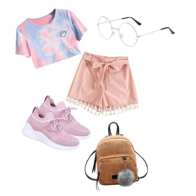 For people that loves to be pink and casual