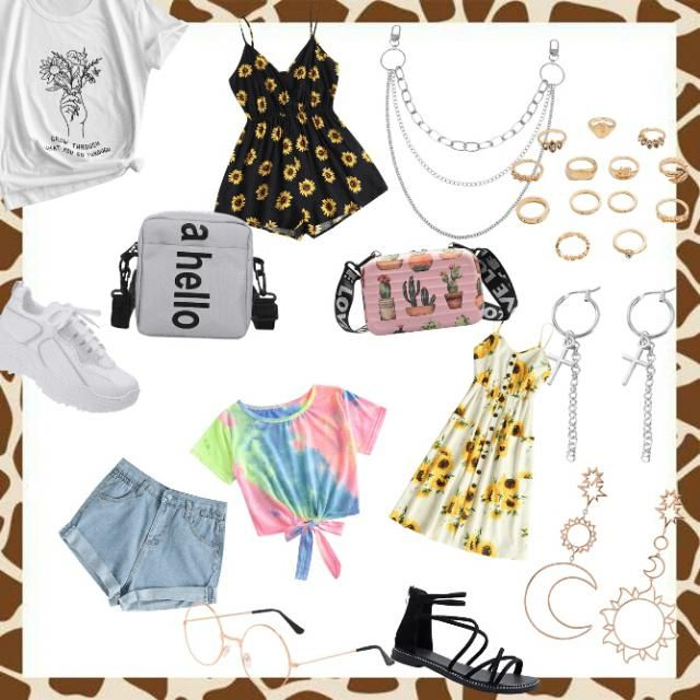 Make an outfit.. and yes i did put a bunch of random stuf