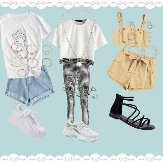 Just some outfits👉👈✌