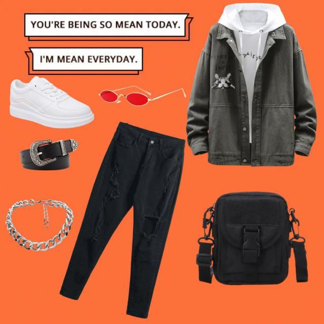 Unisex outfit that will make anyone like a boss