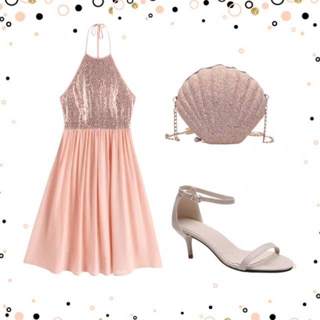 A pretty pink party outfit🎀!